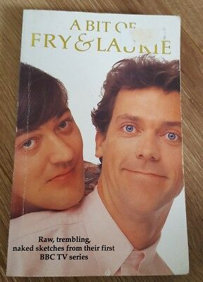 a bit of fry & laurie - paperback book of scripts of the sketches