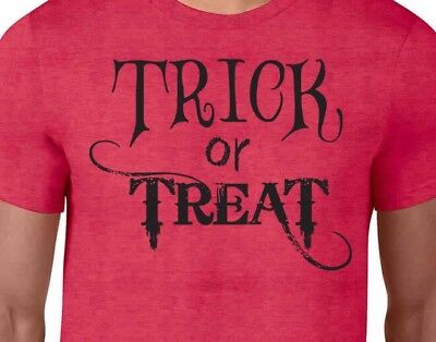 TRICK OR TREAT Sweets Candy Spooky Costume Fall Men's & Women's Unisex T-Shirt