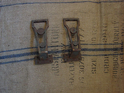 vintage industrial cast iron brackets