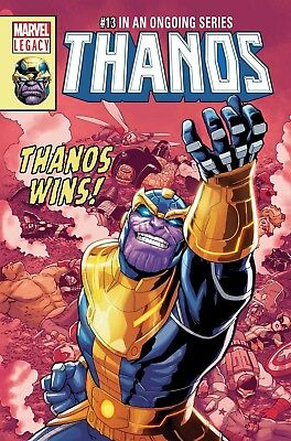 Preorder THANOS #13 Lenticular Variant Marvel Legacy Comics NM 2017