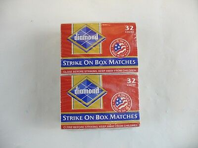 diamond matches pack of 4 boxes sealed.