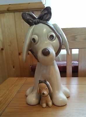 """Sylvac Smallest Size Toothache Dog  4 """" Tall"""
