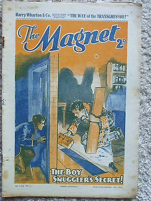"""The Magnet (Billy Bunter) - """"The Way of the Transgressor""""  Single Issue 1936"""
