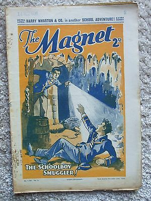 """The Magnet (Billy Bunter) - """"The Schoolboy Smuggler""""  Single Issue 1936"""