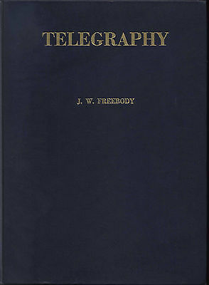 TELEGRAPHY BRITISH POST OFFICE GPO COMPLETE WORK FREEBODY 1950s