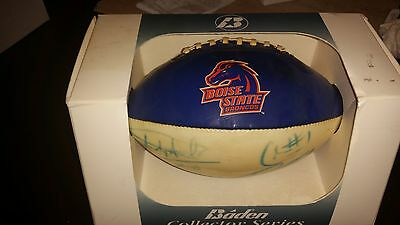 boise state bsu broncos autograph signed mini football ncaa rare