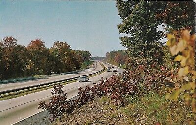 Scenic View on the Pennsylvania Turnpike Postcard