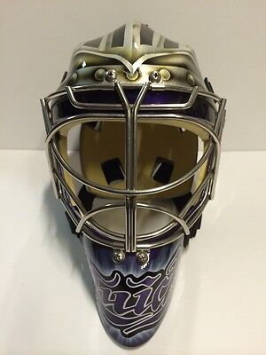 JONATHAN QUICK 11'12 Cup Season Los Angeles Kings Game Issued Worn Goalie Mask