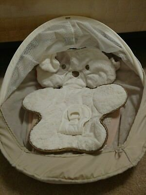 Fisher Price My Little Snugapuppy Cradle N Swing Seat Cover Replacement Part