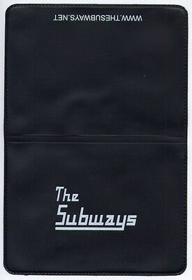 THE SUBWAYS Promo PVC wallet / Oyster card holder MINT / UNUSED