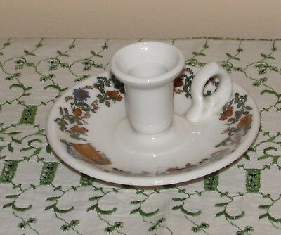 Vtg Scammell's Lamberton China American Hotels Candle Holder