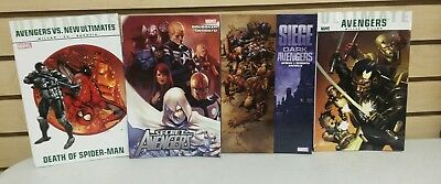 Lot of 4 Marvel TPBs Avengers vs New Ultimates Secret Ultimate Blade Siege Dark