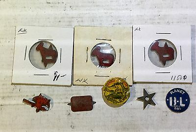 Antique Tobacco Tags Lot of 8