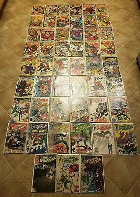 Amazing Spiderman huge lot of 51 comics 109-297