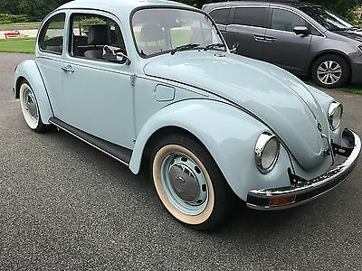 1971 Volkswagen Beetle - Classic  2003/71 Volkswagen Beetle Ultima Edition Aquarius Blue Final Production