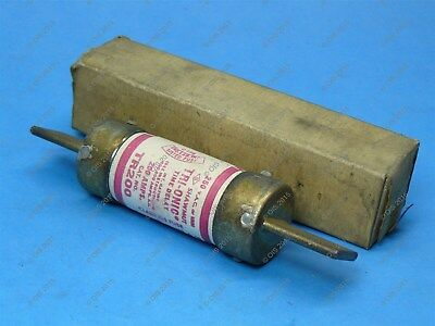Shawmut TR200 Time Delay Fuse Class K5 125 Amps 250VAC/250VDC New