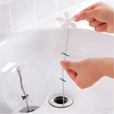 Shower Sink Drain Strainer Hair Stopper Filter Shower Chain Hair Catcher Cleaner