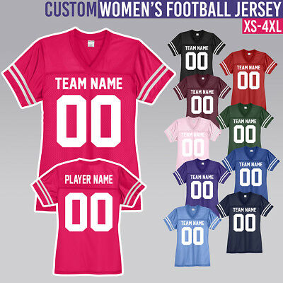 Women's Custom Football Jersey **** Customize It **** Fan **** Team **** XS - 4X