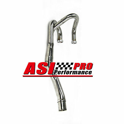 S/S Exhaust Head Header Pipe For 93-13 Honda XR600R 91-00, XR650L PRO