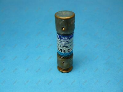 Littelfuse FLNR20 Time-delay Fuse Class RK5 20 Amps 250VAC/125VDC New