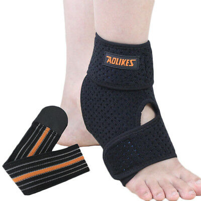 Adjustable Ankle Stabilizer Orthotic Redress Brace Support Pain Relief Strap