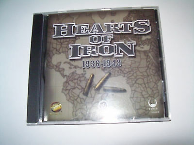 Hearts of Iron [1936 to 1948] - PC game - Pick up available