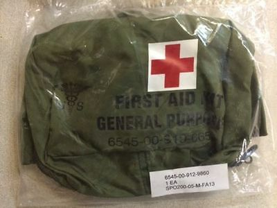 Us Military Gi First Aid Pouch General Purpose/ Nylon Pouch New 6545-00-919-6650