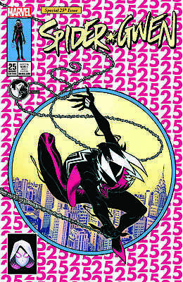 SPIDER-GWEN #25 LEG UNKNOWN COMIC BOOKS EXCLUSIVE McGUINNESS CVR A Not 24