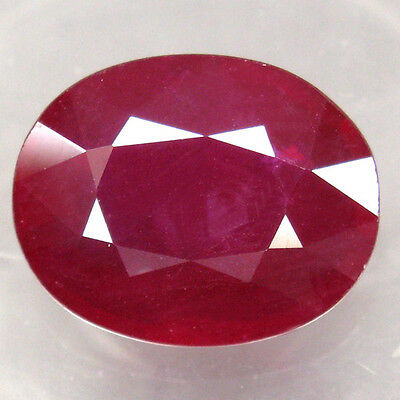 13.56ct.WINSOME GEM! 100%NATURAL TOP BLOOD RED RUBY MADAGASCAR GEM AA