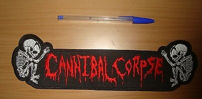 CANNIBAL CORPSE - LARGE LOGO Embroidered BACK PATCH