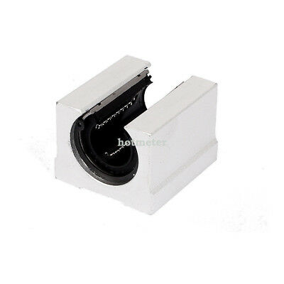SBR20UU 20 mm CNC Linear Ball Bearing Support Unit Pillow Block Rail Guide Shaft