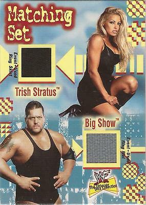 "WWF Ultimate Diva - Matching Set ""Big Show & Trish Stratus"" Costume Card"