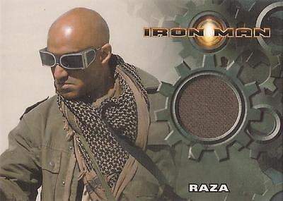 "Iron Man Movie - Faran Tahir ""Raza"" Costume Card"
