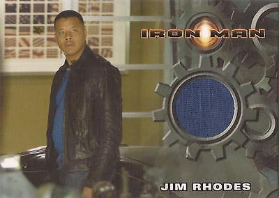 "Iron Man Movie - Terrance Howard ""Jim Rhodes' T-Shirt"" Costume Card"