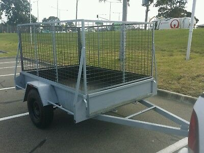 7x5 Cage Trailer For Sale
