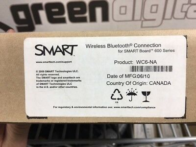Smart WC6 Wireless Bluetooth Connector for 600 Series Smart Boards
