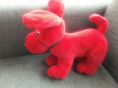 Clifford The Big Red Dog Plush Toy By Scholastic 2000