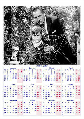 The Fly (1958) - 2018 A2 POSTER CALENDAR ***LATEST BUY 1 GET 1 FREE OFFER***