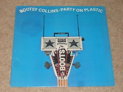 Bootsy Collins ‎– Party On Plastic    1988   FUNK!!