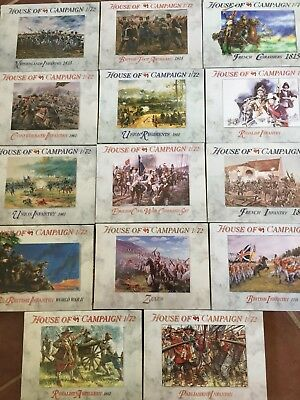 A Call to Arms 1:72 Scale Range - Zulus - British - French - Parliament - Union