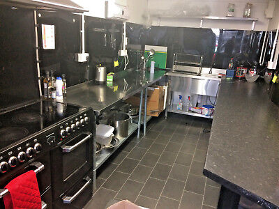 Shipping Container 20ft, Full Commercial Kitchen, Food Hygiene Registered