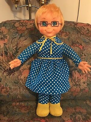 """67"" Mrs Beasley Straight Hair Pull String Talker Mattel ""Restored Talk/Cleaned"""
