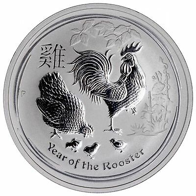 2017 Year of the Rooster | 1 oz Silver Perth Mint Lunar Series II