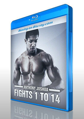 Anthony Joshua: Fights 1 to 14 on Blu-ray