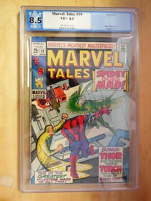 Marvel Tales  19    PGX  8.5    1969     Spider-Man by Steve Ditko