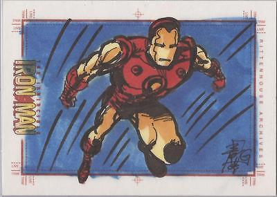 Iron Man Movie - Brian Kong Sketch Card