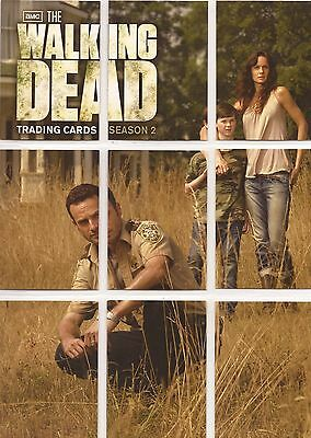 Walking Dead Season 2 - Foil Puzzle Set of 9 Chase Cards