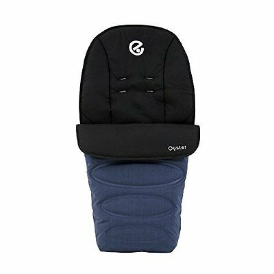BabyStyle Oyster/ Max Footmuff in Oxford Blue