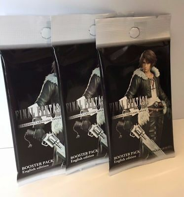 OPUS II Final Fantasy Trading Card Game 3x Booster Packs