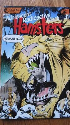 Adolescent Radioactive Black Belt HAMSTERS Eclipse Comic No 6 May 1987 VG++